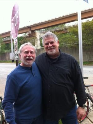 Steve and Jeff, Atlanta, April 28, 2013