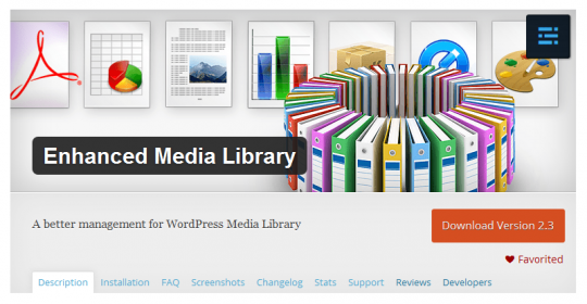 Enhanced Media Library Free