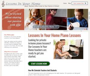 Piano Lessons, Any Market