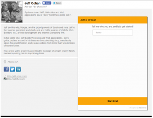 Live Chat tawk-to-personal-page