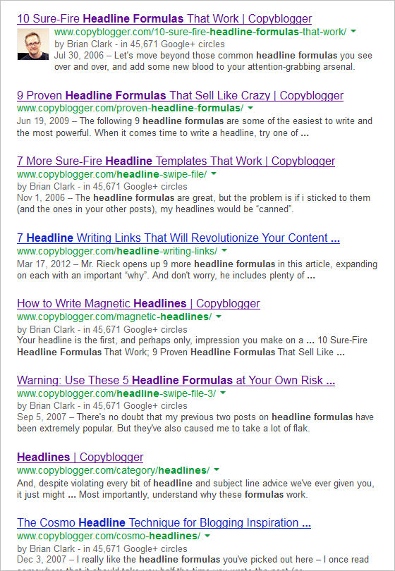 clever article titles