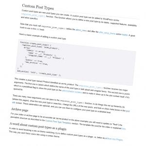 Dive Into WordPress Custom Post Types – Part 1