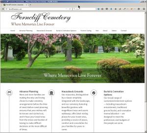 Ferncliff Cemetery Website