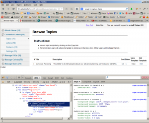 Why I Love Firebug for Firefox