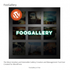 FooGallery Plugin for WordPress: First Look