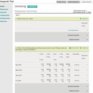 Use SurveyMonkey to Schedule Meetings