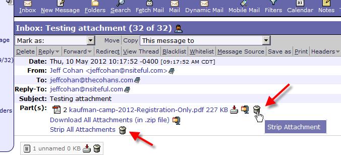 screenshot of Horde