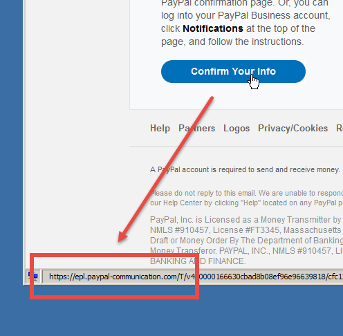 PayPal Phishing Scam Alert Oct 11, 2018 - nSiteful Web Builders