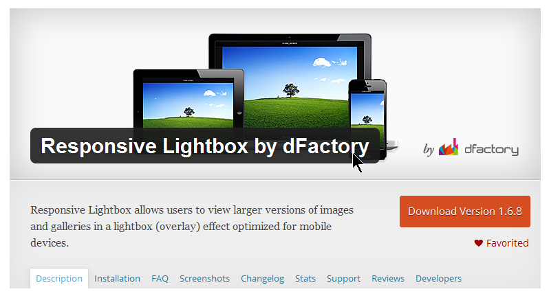 Make Responsive Lightbox by dFactory Work with FooGallery