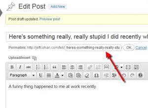 Shorten Your WordPress Slugs (Permalinks)