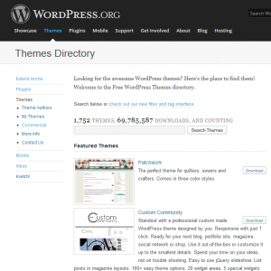 WordPress Themes Directory
