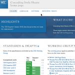 CSS Desendeant Selctors - w3c-css-screenshot